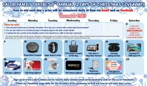 12 Days of Christmas 2019 Prizes LFD1 300x177 - 12 Days of Christmas - 2019 - Prizes - LFD1